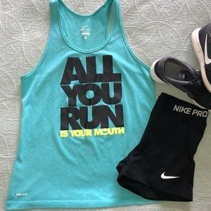 Ladies Nike Dr-Fit Tank